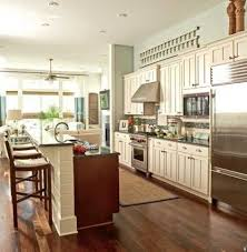 one wall kitchen with island one wall kitchen designs with an island galley kitchen with island