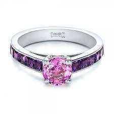 Purple Wedding Rings by Purple Engagement Rings 2017 Wedding Ideas Magazine Weddings