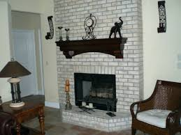 fireplace pleasing gray brick fireplace house furniture light