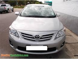 Cars In Port Elizabeth 2011 Toyota Corolla Used Car For Sale In Uitenhage Eastern Cape
