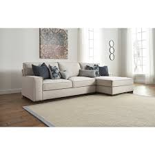 Sofas With Chaise City Furniture Kendleton Lt Taupe Microfiber Right Chaise Sectional