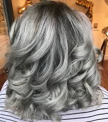 gray frosted hair 21 ombre grey hair looks cherrycherrybeauty