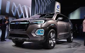 subaru viziv truck subaru viziv 7 suv concept the size of things to come the car guide