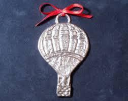 air balloon ornament etsy