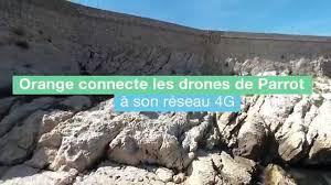 bebop drone proof of concept flight over 4g network by orange