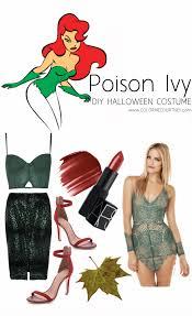 Poison Ivy Halloween Costume Diy Diy Halloween Costumes Color Courtney