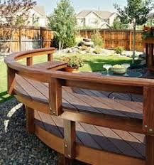 Pvc Bench Seat Curved Bench And Other Outdoor Seating Ideas Outdoor Furniture