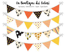 Halloween Banner Clipart by Halloween Bunting Banner Clipart La Boutique Dei Colori