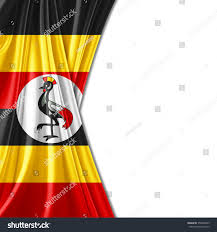 Images Of Uganda Flag Uganda Flag Silk Copyspace Your Text Stock Illustration 350946059