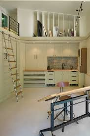 art studio designed for a retired art teacher