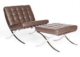 ledersessel design relax sessel design klassiker designer sessel mit hocker bauhaus