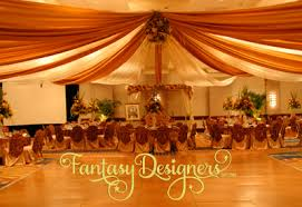 Ceiling Draping For Weddings Draping Welcome To Fantasy Designers
