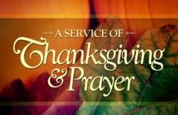 thanksgiving prayer service holy spirit high school