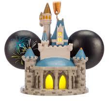 cinderella castle light up ear hat ornament walt disney world