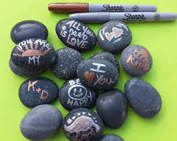wedding signing stones wedding stones etsy