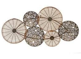 Circle Corten Steel Maple Leaves Metal Wall Art Wholesale Buy