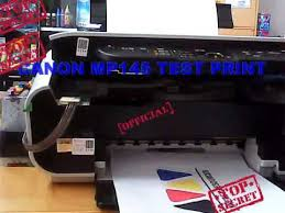 resetter printer mp 145 canon mp145 test prink ink tank youtube