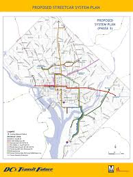 Portland Streetcar Map by A History Of Streetcar Planning In The District U2013 Greater Greater