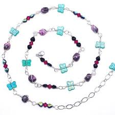 glass butterfly necklace images Best wire jewelry butterfly products on wanelo jpg