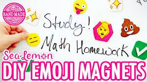 diy emoji magnets with sea lemon hgtv handmade youtube