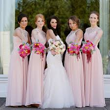soft pink bridesmaid dresses wedding bridesmaid dresses pink wedding ideas pale