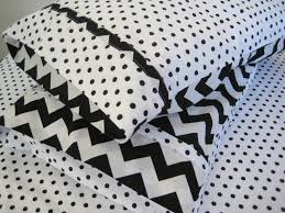 Chevron Desk Accessories Interior Black And White Chevron And Polka Dot Bedding Backyard