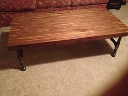 coffee table walnut coffee table coffee table walnut with metal pipe legs