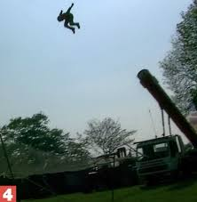bradford monster truck show human cannonball dies when safety nets fails in scott may u0027s