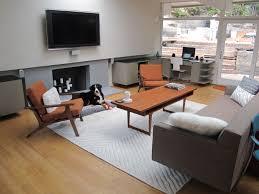 living room astounding mid century modern room rug sky for mid