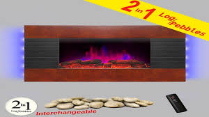akdy 36inch wooden style wall mount electric fireplace review