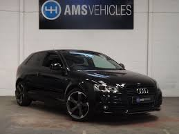 used audi tdi used audi a3 2 0 tdi black edition 3dr for sale in stokesley
