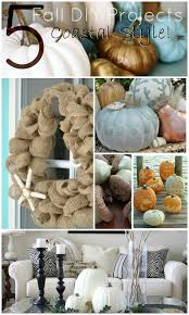 Fall Decorating Projects - 5 fall diy projects makes miss the ocean maybe i u0027ll do a