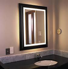 lighted bathroom wall mirror for any bathroom styles home design
