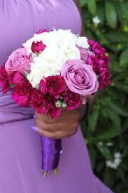 wedding flowers jamaica wedding lavender fuchsia white bouquet by helen g events