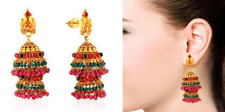 malabar earrings malabar gold and diamond jewellery on discountmantra