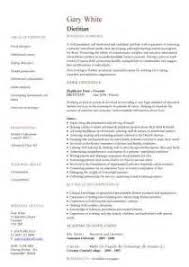 Nutritionist Resume Sample by Resume Templates Dietitian Cover Letter Dietitian Cover Letter