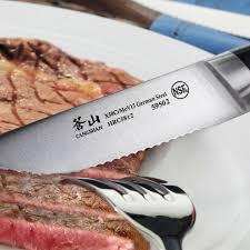 cangshan v2 series 1020373 german steel forged 4 piece steak knife