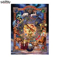 Zodiac Home Decor by Online Buy Wholesale Zodiac Paintings From China Zodiac Paintings