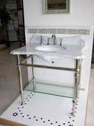 sink with metal legs console sink with metal legs foter guest cottage ideas