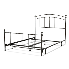 amazon com sanford complete bed with metal panels and round