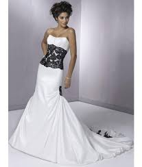 black and white wedding dresses embroidered black and white wedding gownwedwebtalks wedwebtalks