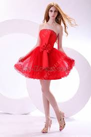 sweet red short princess prom dress 1st dress com