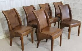 Dining Leather Chair Cool Dining Room Plus Leather Dining Chair Classic Design