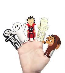 halloween monsters halloween monsters paper finger puppets halloween toy diy