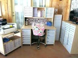 scrapbooking cabinets and workstations craft desk storage ideas cabinets and workstations large size of