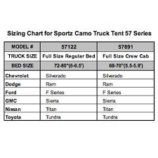 Ford Camo Truck Accessories - sportz camo truck tent full size regular bed 6 5 u0027 napier