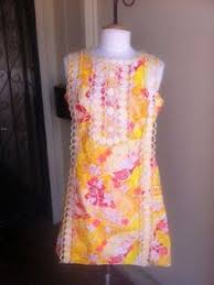 vintage lilly pulitzer the lilly maxi dress size 10 12 pristine