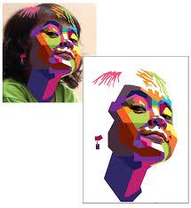 tutorial wpap lewat photoshop bagaimana membuat gambar potret vector geometris dengan style wpap