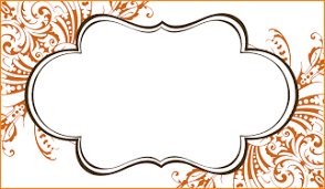 Table Card Template by 5 Placecard Template Outline Templates
