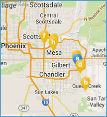 mesa az map things to do in mesa az with archives travel map